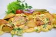 Leinwanddruck Bild - Bauernfrühstück