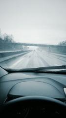 Pluie route