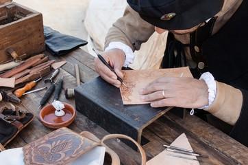 artesano de piel