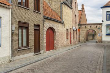Old town of Brugge - Belgium.