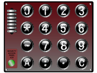 Security Keypad