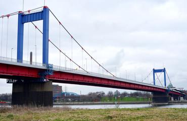 Duisburg Brigde over the Rhine River