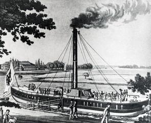 """Steamship """"Prinzessin Charlotte Von Preussen"""" (1818)"""