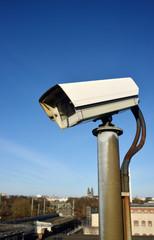 Surveillance Cam near a Prison