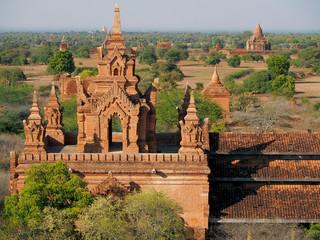 Hsin Bhyushin Monastic Complex, Bagan, Burma