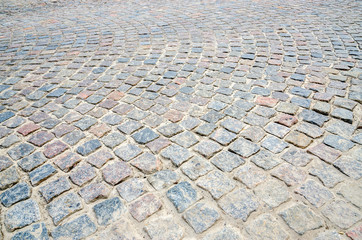 Pavement of paving stones