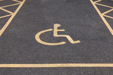 Disable Parking Lot