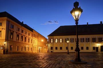 Historic Zagreb Upper Town lanterns