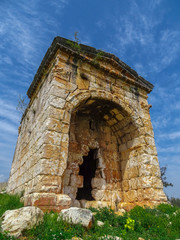 mersin/turkey/kanli divane. ancient Roma period, the mausoleum