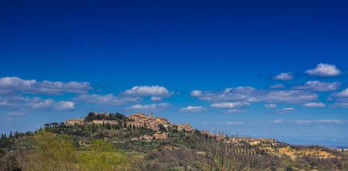 Veduta panoramica di Montepulciano