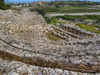 Turkey/mersin/elaiusse sebaste/ancient rome theater