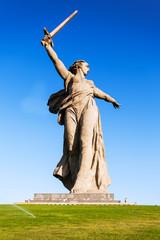 "WorldWarII ""Motherland calls"" memorial in Volgorad (former Stali"