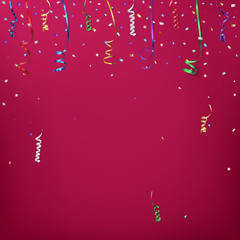 Celebration background template.