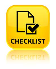 Checklist yellow square button