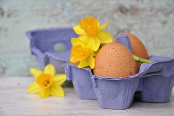 Dekoidee zu Ostern