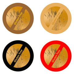 Stickers for gluten free products