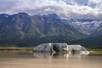 Iceberg, Nazina Lake, Wrangell-St. Elias National Park, Alaska