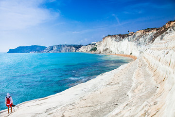 White beach - Scala dei Turchi on Sicily