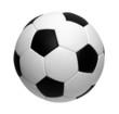Leinwandbild Motiv soccer ball