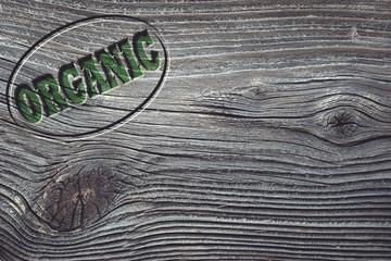 Organic Werbeschild