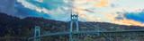 St. John's Bridge in Portland Oregon, USA - 81022907