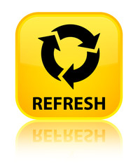 Refresh yellow square button