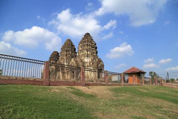 Wat Phra Prang Sam Yot temple in Lopburi