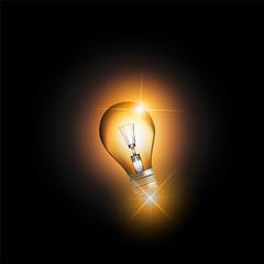 orange bulb light