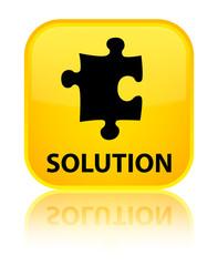 Solution (puzzle icon) yellow square button