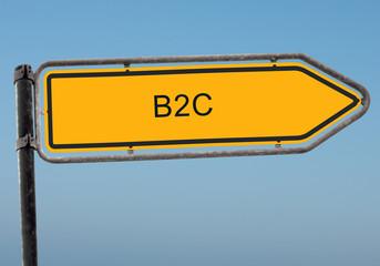 Strassenschild 38 - B2C