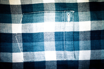 Flannel checkered background. Toned