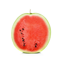 Watermelon isolated on pure white background