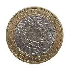 Pound coin - 2 Pounds