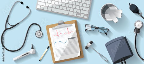 Desk Doctor illustration - 81031930