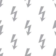 New Lightning seamless pattern