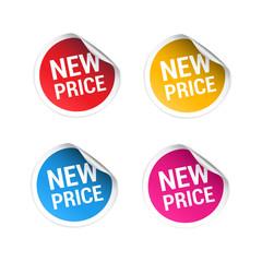 New Price Stickers
