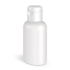 Mock Up Cream, Shampoo, Gel Plastic Bottle