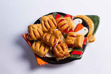 Children's biscuits .