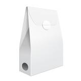 White Cardboard Carry Box