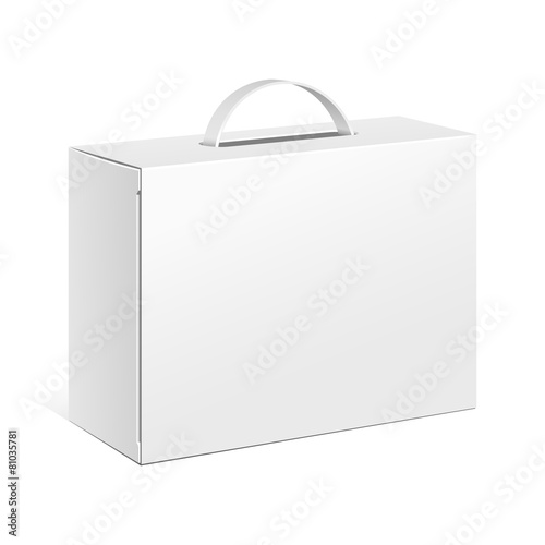 Carton Or Plastic White Blank Package Box - 81035781