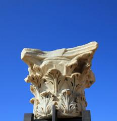 Capital of Antique Column
