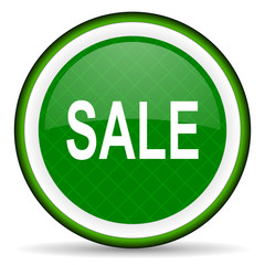 sale green icon