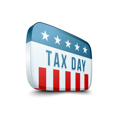 Tax Day sign