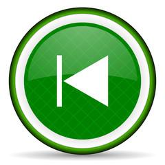 previous green icon