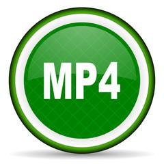 mp4 green icon