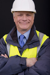 Smiling Building Contractor