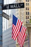 Wall street, New York, USA.