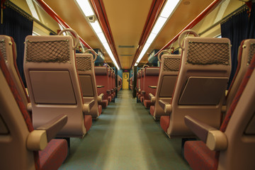 Interieure de Train Voyage