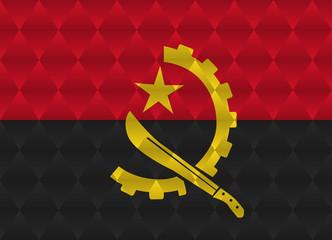 angola low poly flag