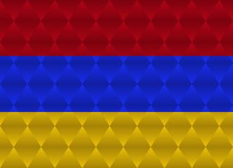 armenia low poly flag